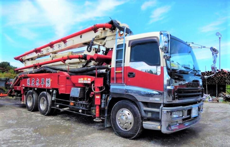 極東開発工業33Mブーム車