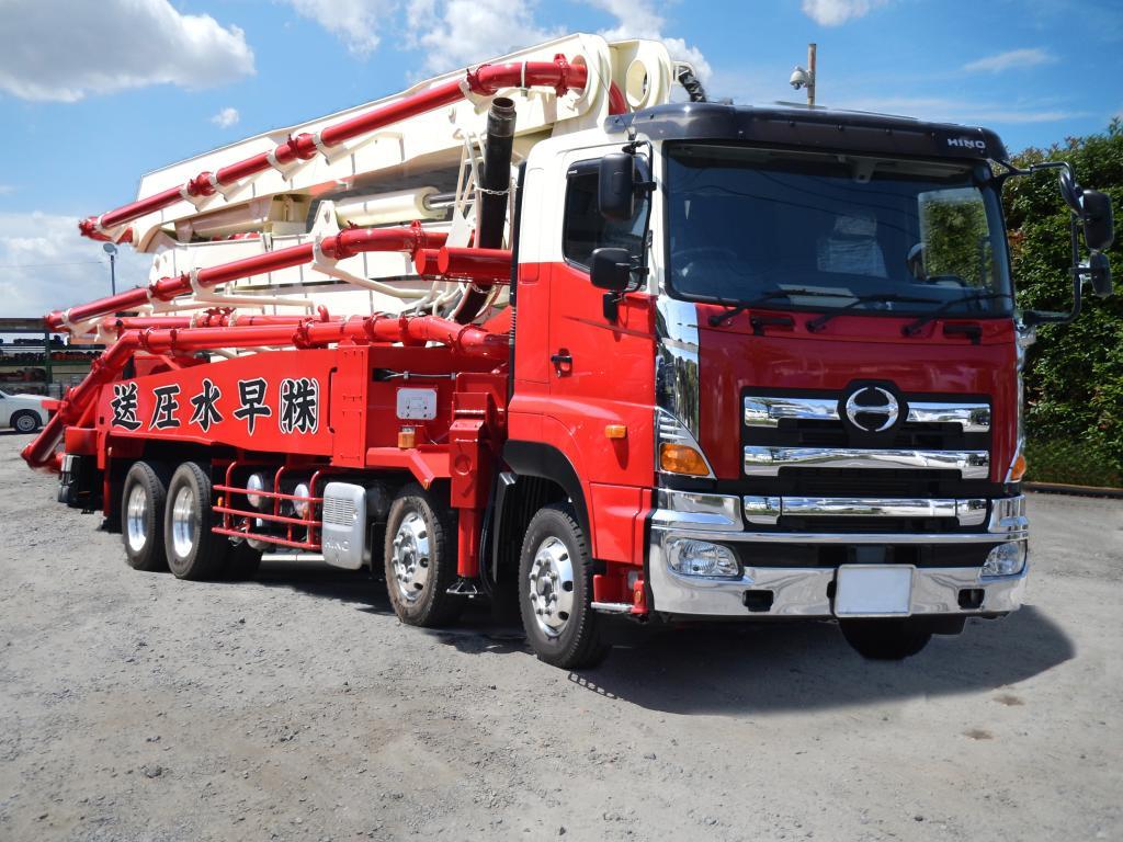 極東開発工業製(日野)38mブーム車